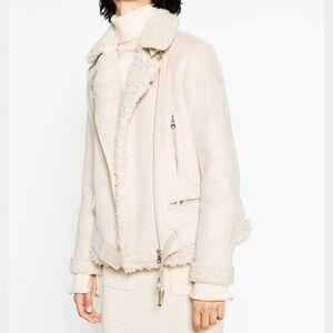 Zara Shearling Lined Moro Jacket