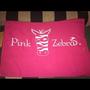 Pink Zebra Table Cloth