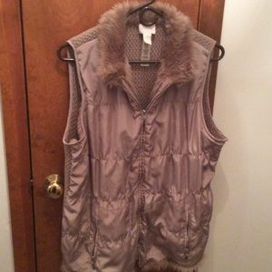 Quilted vest by Chico's