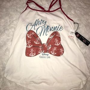 Disney Cruise Line tank! NEVER WORN