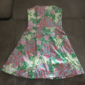 🔥 MAKE OFFER 🔥 Lilly Pulitzer Strapless Dress