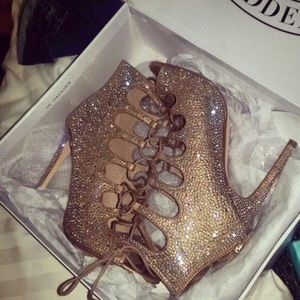 Bedazzled Steve Madden shoes
