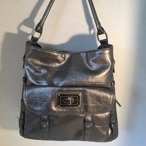 🌸15 FAB SALE 🌸Tyler Rodan Gray Metalic Handbag