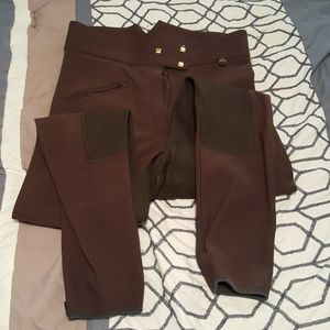 Golden Dress Chocolate Breeches