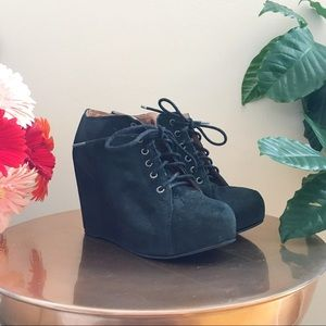 Black Jeffrey Campbell Booties