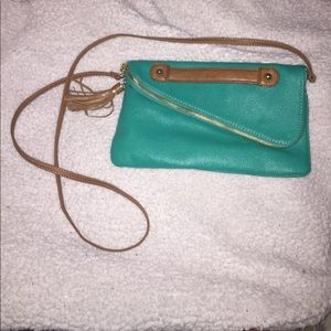 Small Teal purse/clutch