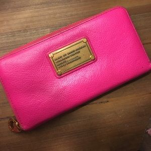 Marc by Marc Jacobs wallet - hot pink