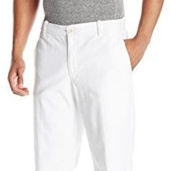 c46c367f9daafe Izod Other - White Izod saltwater pants straight fit flat