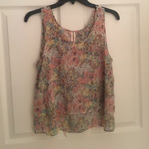 Double Layered Nordstrom Blouse