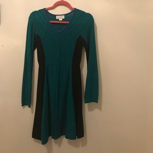 Jessica Simpson fit and flare sweater dress