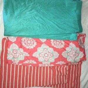 3 maxi skirts