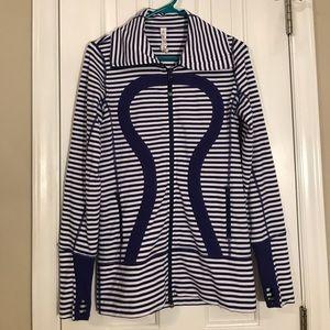Lululemon purple stripe jacket 6