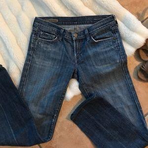 COH Kelly #001 Low Waist Boot Cut Stretch