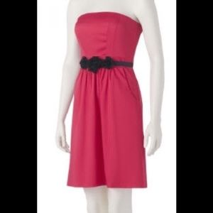 NWT THE LIMITED STRAPLESS DRESS REMOVABLE BELT 4