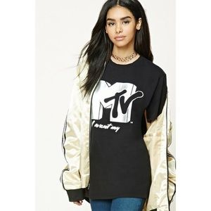 NWT >> Forever 21 >> MTV Tee >> M