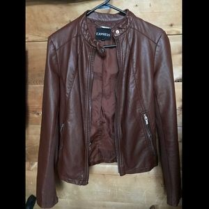 "Express ""Minus the Leather"" Jacket"