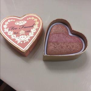 Too Faced bronzer/blush