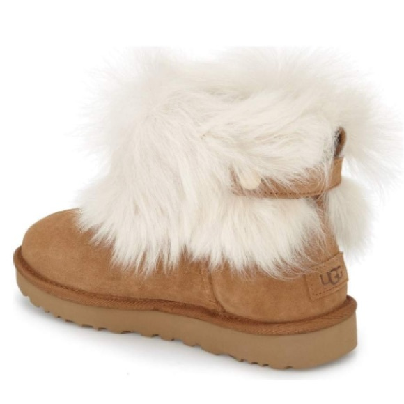 0505a372f UGG Shoes | New Valentina Genuine Shearling Cuff Boot | Poshmark