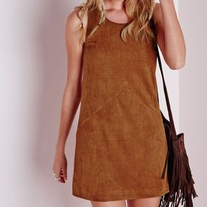 Chloe K • Faux Suede Dress
