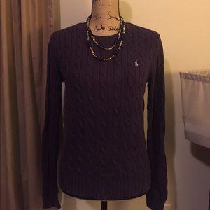 Women's Ralph Lauren cable knit sweater