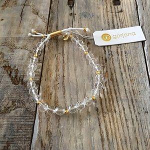 Gorjana Clear Clarity Power Gemstone Bracelet