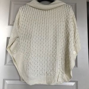 moon collection knit poncho