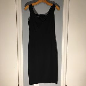 Black bebe sexy dress