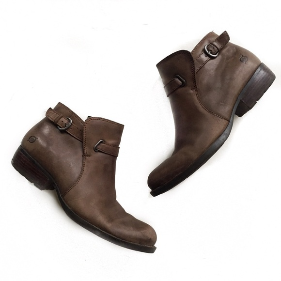 11307b361106 Born Shoes - born • brown leather ankle boots