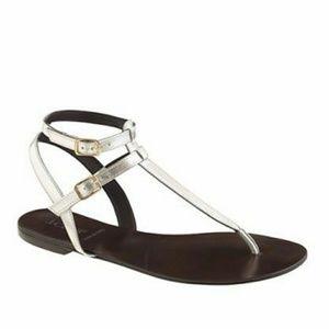 J.Crew Tabbie T-strap sandals