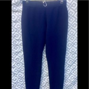 J. Crew Pixie Pant Navy Back Zip