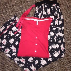 Victoria Secret Polar Bear Pajama Set!