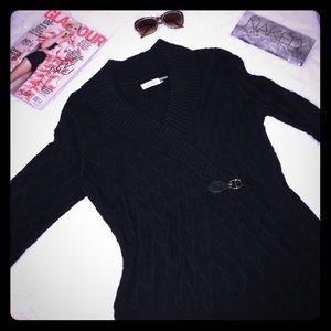 {NEW} CALVIN KLEIN Black Sweater Dress