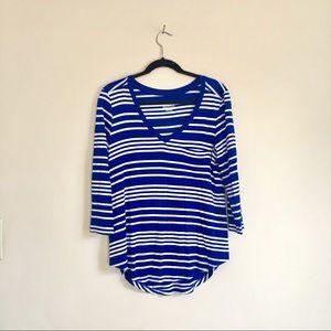 Set of 2 🔹Striped 3/4 Sleeve Shirts