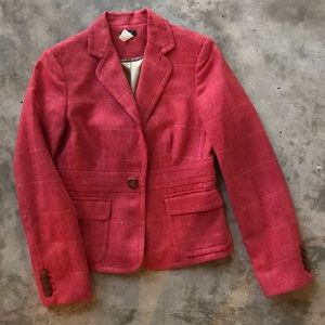 J. Crew Wool Herringbone Ryder Jacket, Like New