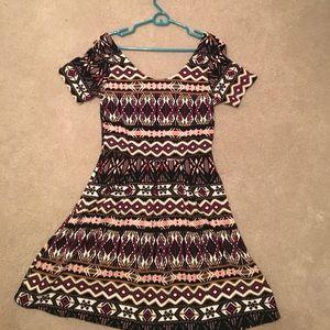 Dresses & Skirts - Aztec print day dress