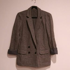 J. Crew women's wool Blazer Grey