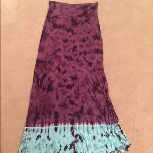 Lucky Brand tube top dress, Ankle length