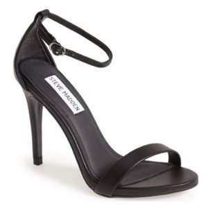 New Steve Madden Black Stecy Heels