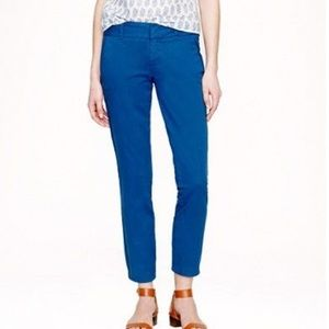 J. Crew Andie Chino in Blue