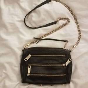 Rebecca Minkoff zipper crossbody