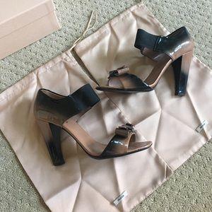Prada ombre bow heels