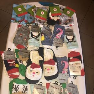 CHRISTMAS SOCK BUNDLE BRAND NEW WITH TAGS