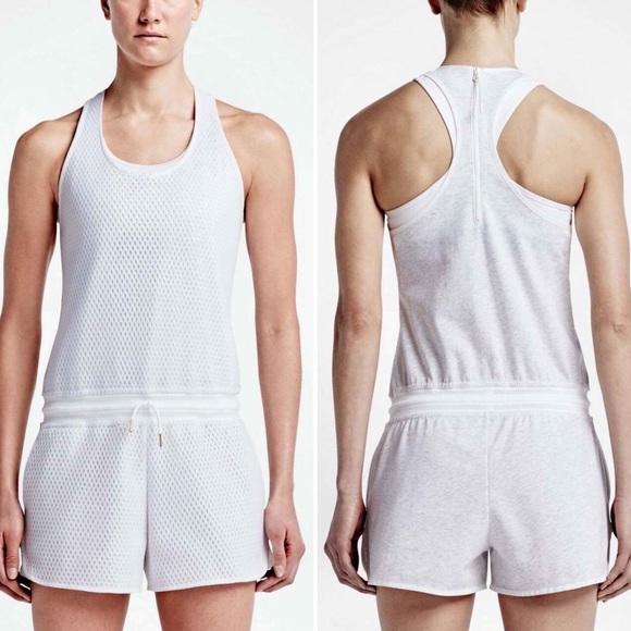 26c825c1fb6 Nike Hyper Mesh Tennis Court Jumpsuit Romper