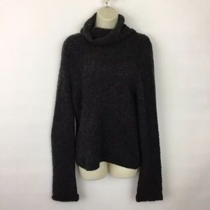 J. Crew Cowl Neck Curly Knit Sweater