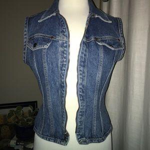 Totally choice Vintage Jean Vest