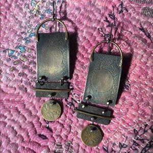 Jewelry - Pattie Wells sterling silver earrings