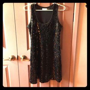 Calvin Klein Sequins Dress