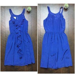 Suzi Chin for Maggie Boutique Silk Layered Dress