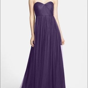 Jenny Yoo Annabelle dress is amethyst purple 4