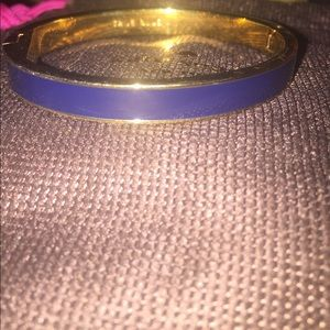 Navy and Gold Kate Spade  Bangle